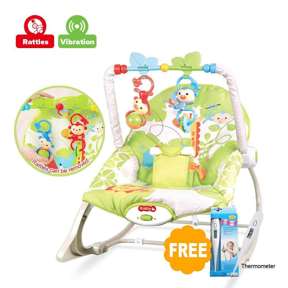 a55449f0d4d YOHESO Baby Rocker Bouncer New Born Toddler Music Chair Safety Belt 03