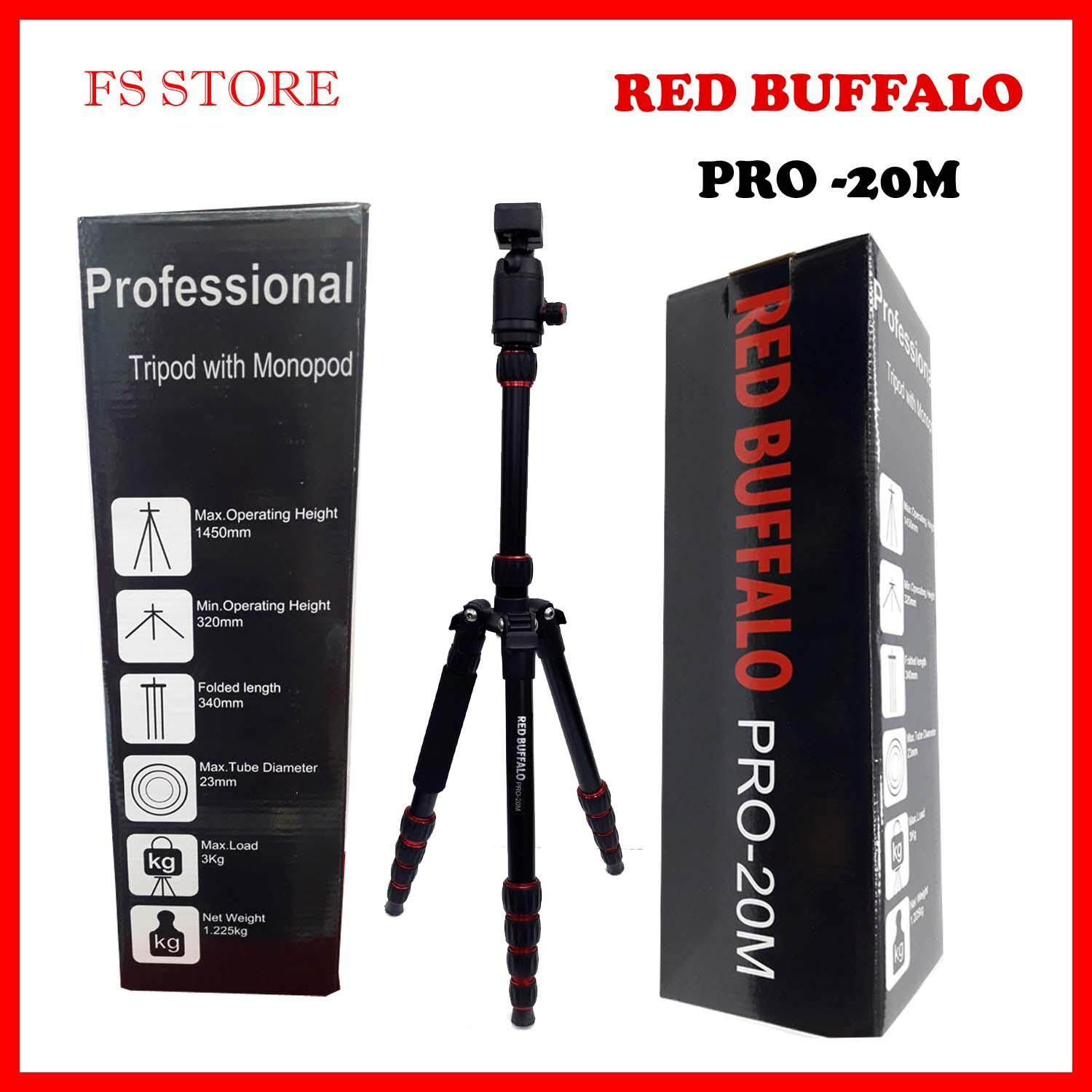 Tripods For The Best Price In Malaysia Tripod Somita St 3110 Professional Red Buffalo Pro 20m With Monopod