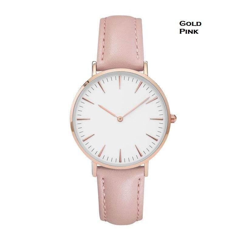 Brand New Leather Strap Men Women Casual Watches Malaysia