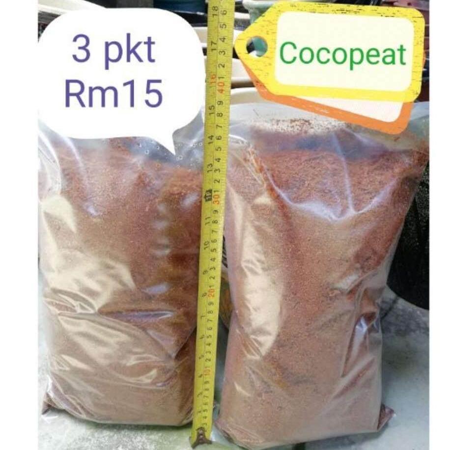 Cocopeat /Habuk Kelapa (3pkt 2KG)