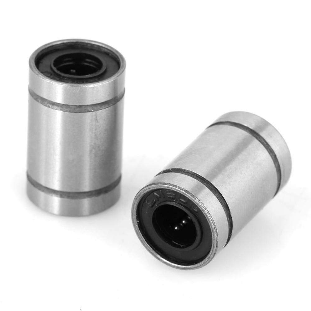 Linear Motion Ball Bearing Bushing 8pcs Lm6uu 6mm For 3d Printer Cnc Parts By Qilu.