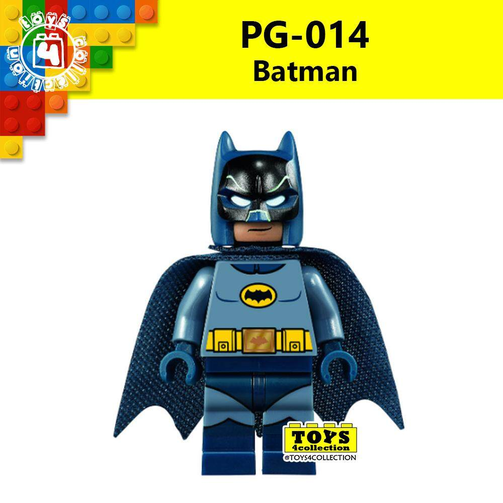 Pg014 Dark Knight Bat Man Dc Justice League Superheroes Minifigures Le Go Compatible Building Blocks By Toys4collection.