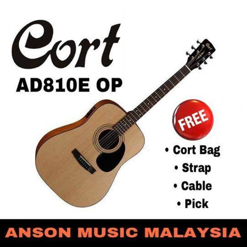 Cort AD810E OP Acoustic-Electric Guitar Malaysia