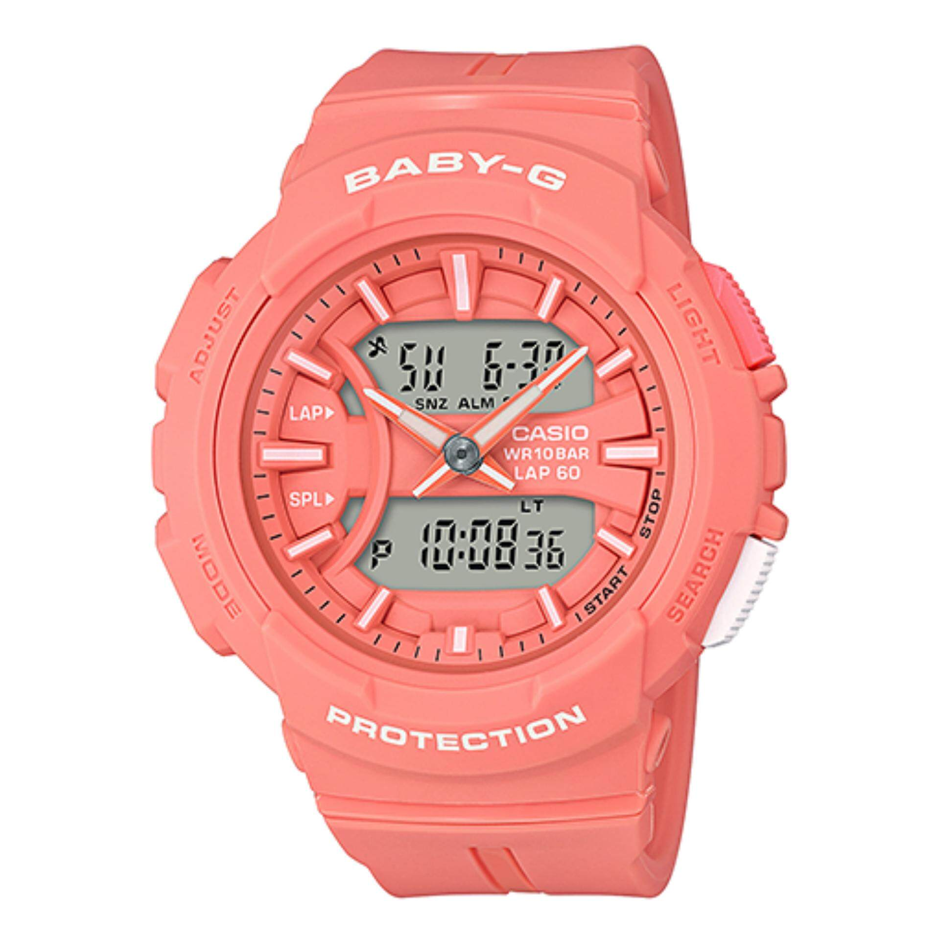 Casio Baby G Watches Price In Malaysia Best Bga 180 7b1 Womens Pink Resin Strap Watch 240bc 4a