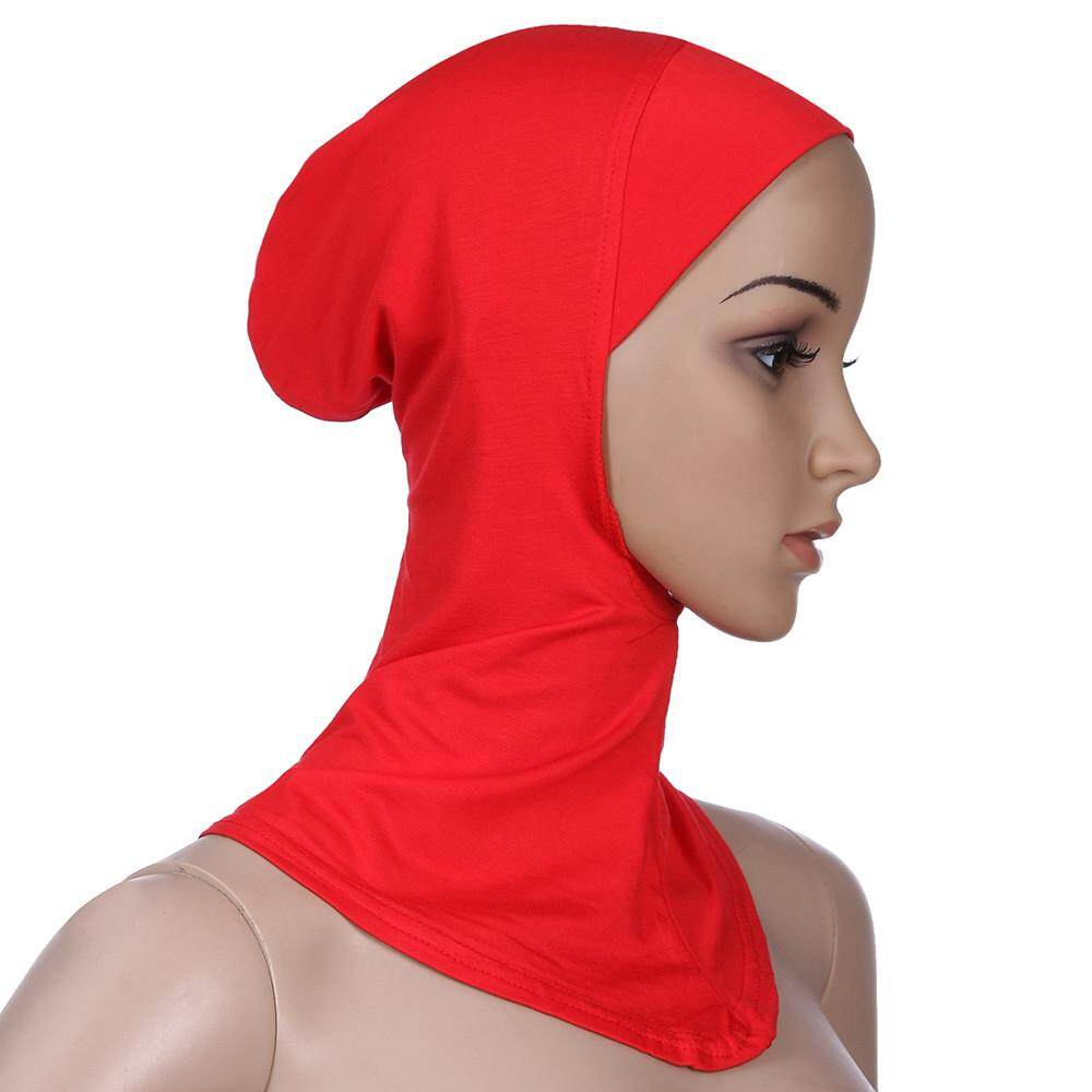 4967a40a Petenies Women Muslim Stretch Turban Hat Chemo Cap Hair Loss Head Scarf  Wrap Cap