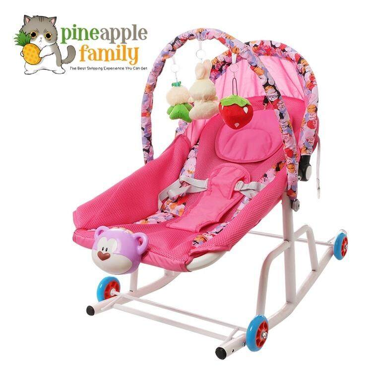 d94457d723c VERNA Baby Rocker Bouncer New Born Toddler Chair wt Safety Belt
