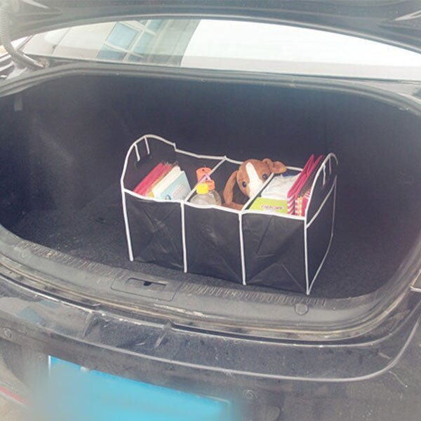 Fabric Collapsible Toys Storage Box Bin Car Trunk Room Organiser Bag Case
