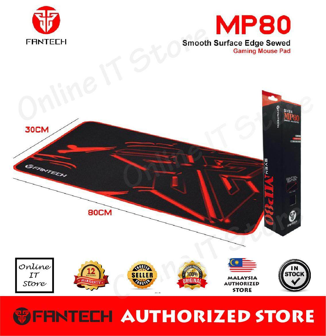 Fantech Gaming Mouse Pad SVEN MP80 High Non-Slip Base  with Edge Sewed 80cm x 30cm Malaysia