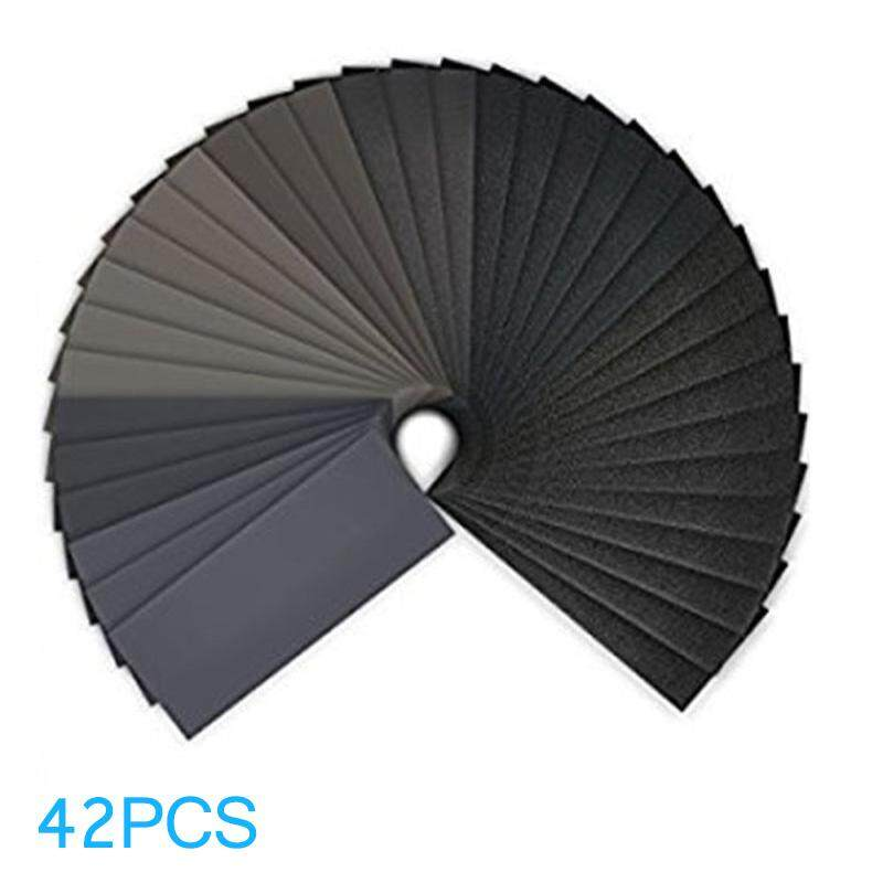 ABH 42 Sheets Sandpaper Waterproof Abrasive Grinding Polish Tool 120#-3000#