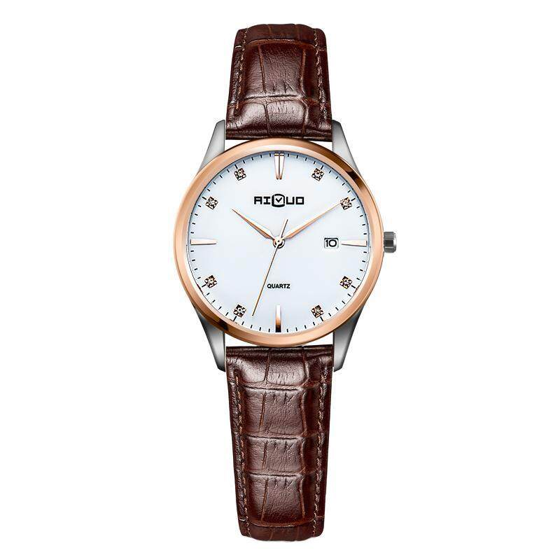 AILUO simple business leather belt womens watches womens watch Malaysia