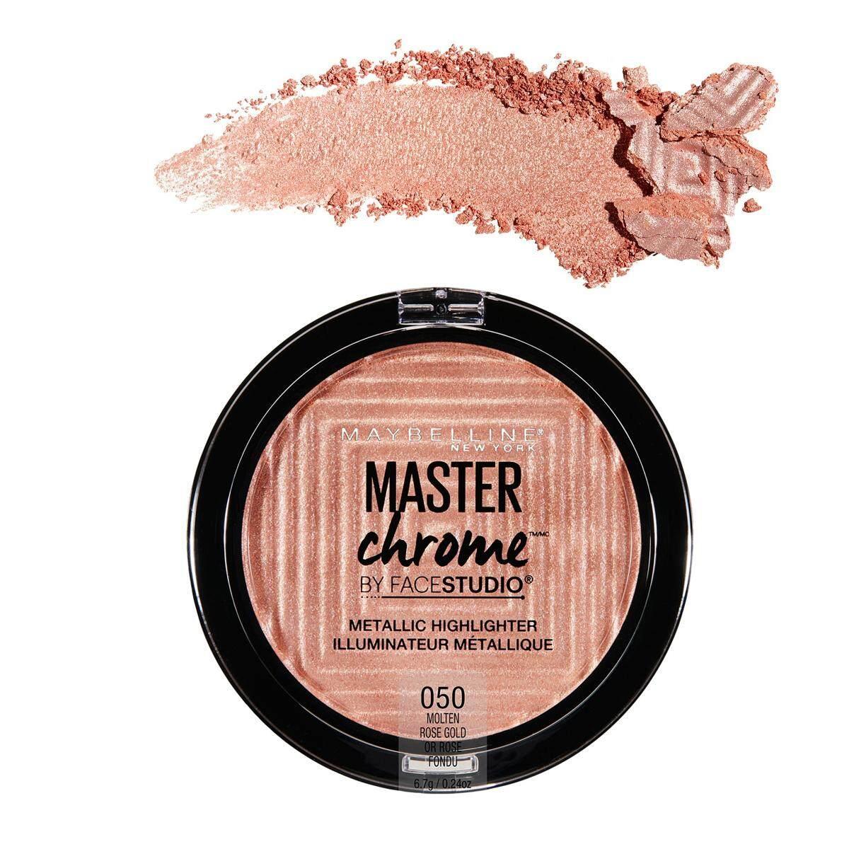 Maybelline V Face Blush Contour Peach Daftar Harga Terkini Dan Meyne Facestudio Master Chrome Metallic Highlighter Molten Rose Gold