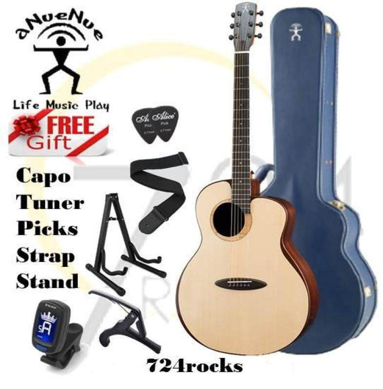 aNueNue L200 Fly Bird Full Solid Model Acoustic Guitar Malaysia