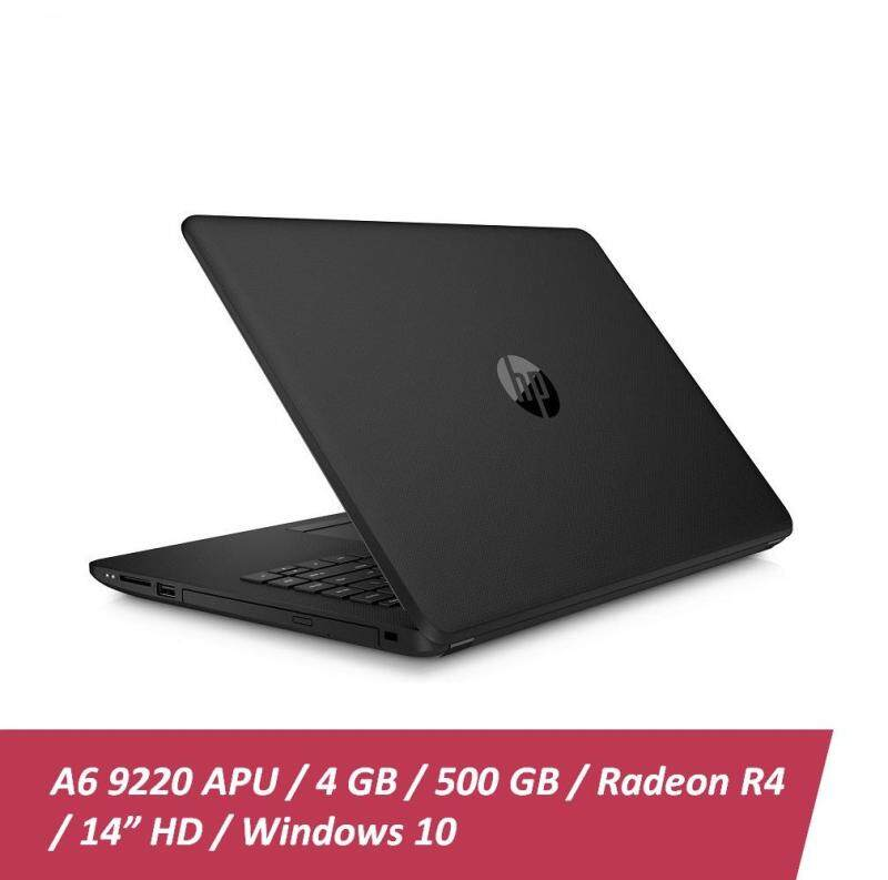 HP 14-bw053AU Notebook ( AMD Radeon A6-9220 / 4GB RAM / 500GB HDD / Win10 ) + Free HP Backpack Malaysia