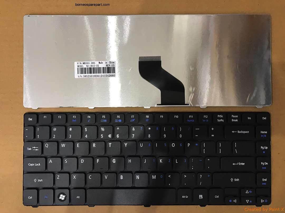 Keyboard Acer Aspire 4740 4740G 4741 4741Z 4741G 4743 4745G Malaysia