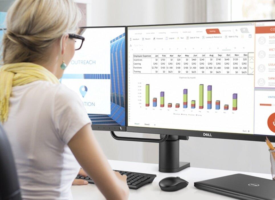 Dell P2418D Monitor - Master multitasking