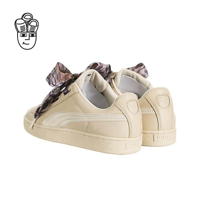 2aae599ab33a Beli harga terendah Puma Basket Heart Mimicry Lifestyle Shoes Women ...