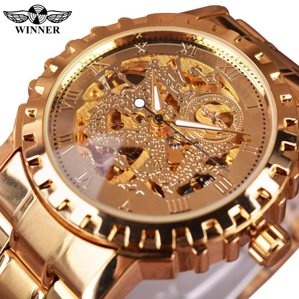 WINNER Simple yet luxurious mens mechanical watches Malaysia