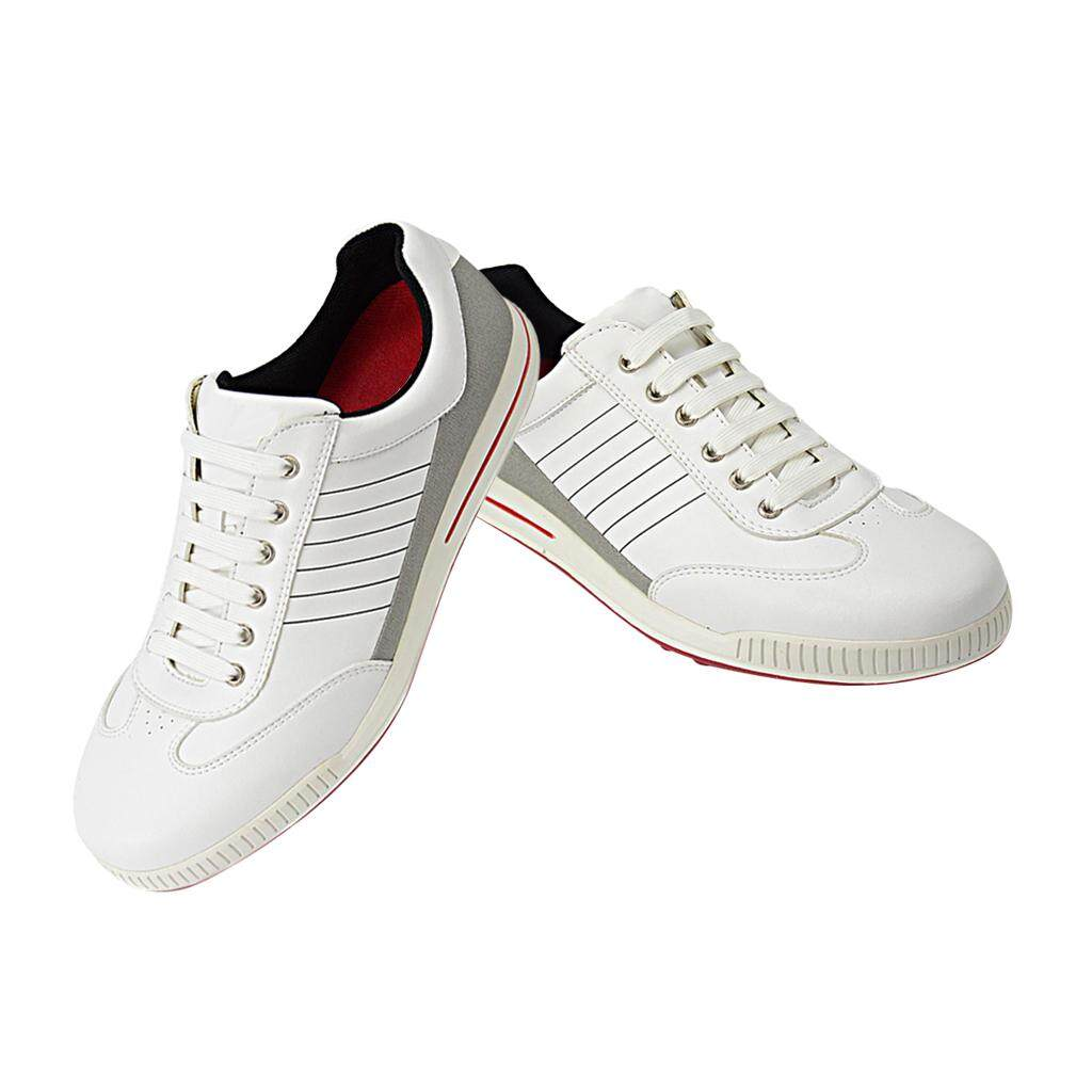 Flameer Breathable Lightweight Mens Golf Shoes Pu Leather Non-Slip Eu 40 Or Uk 6 By Flameer.