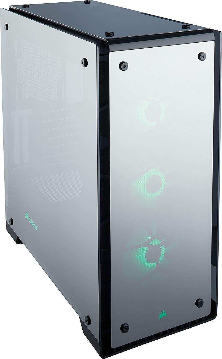 # CORSAIR Crystal 570X RGB Mirror Black Tempered Glass, Premium ATX Mid Tower Case  # Malaysia