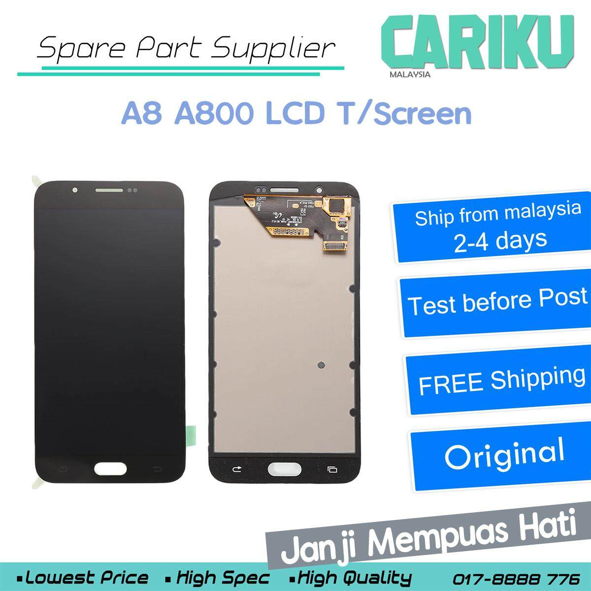 Samsung Galaxy A8 2016 A800 LCD Digitizer Touch Screen Replacement !! CARIKU