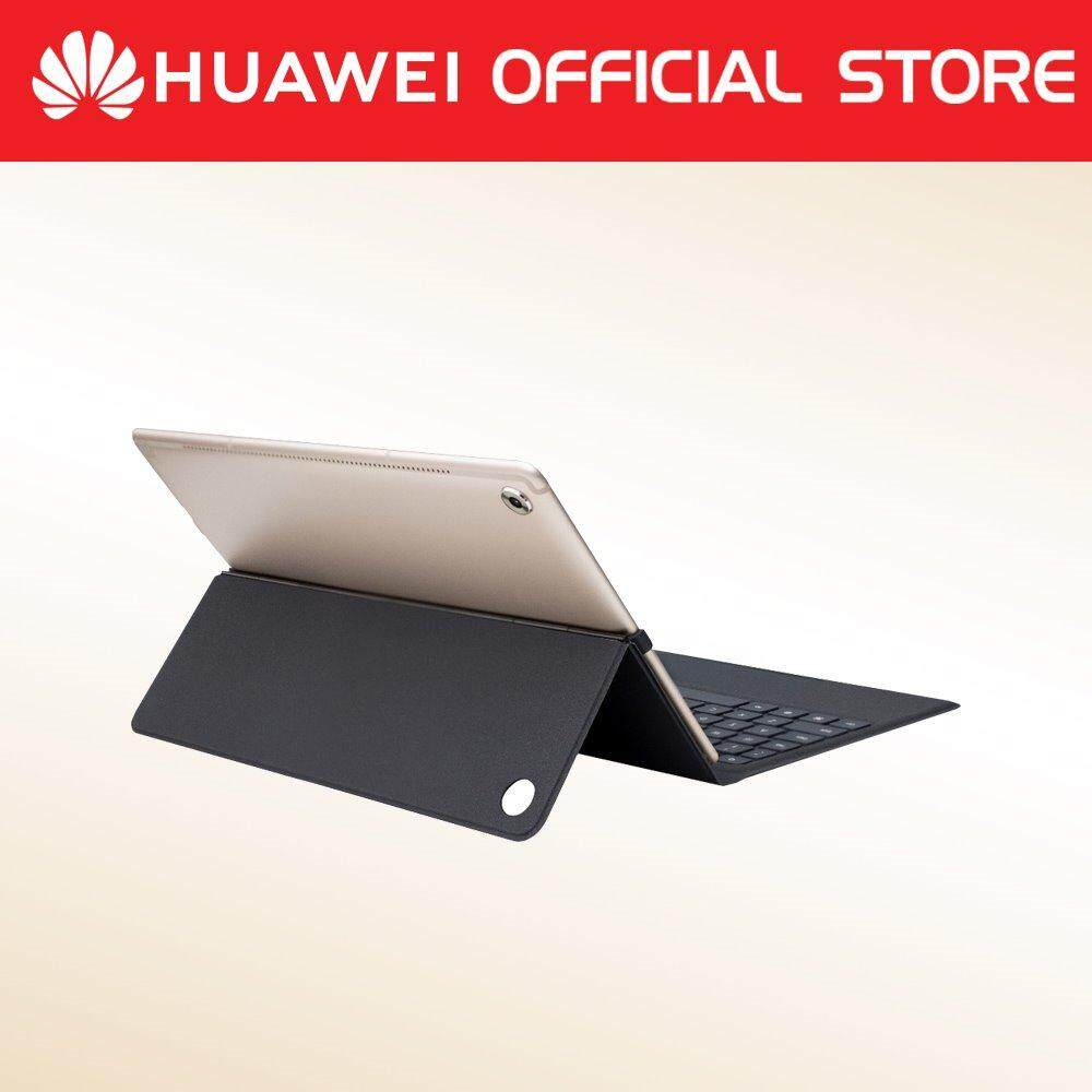 Huawei M5 Pro Flip Cover With Folio Keyboard By Huawei Malaysia.