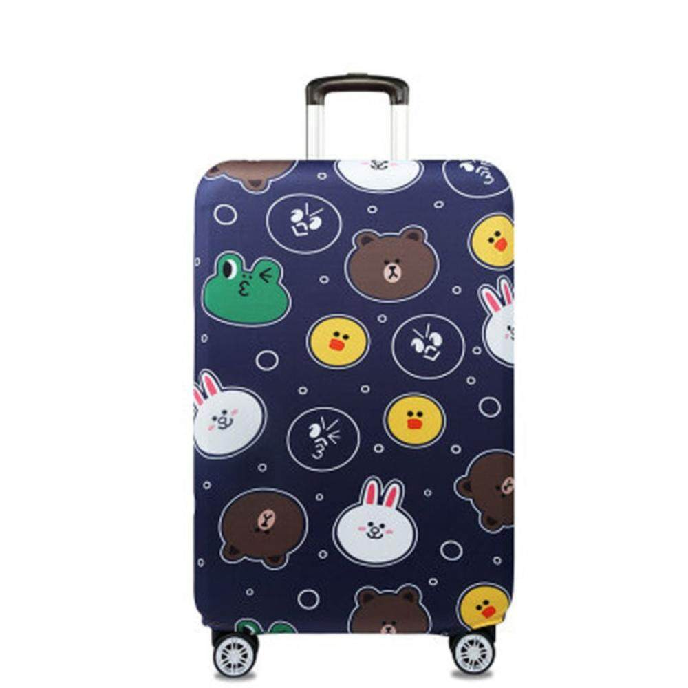 1f660df594a0 Animal Pattern Thicken Trolley Cases Luggage Suitcase Covers Universal for  20 24 28