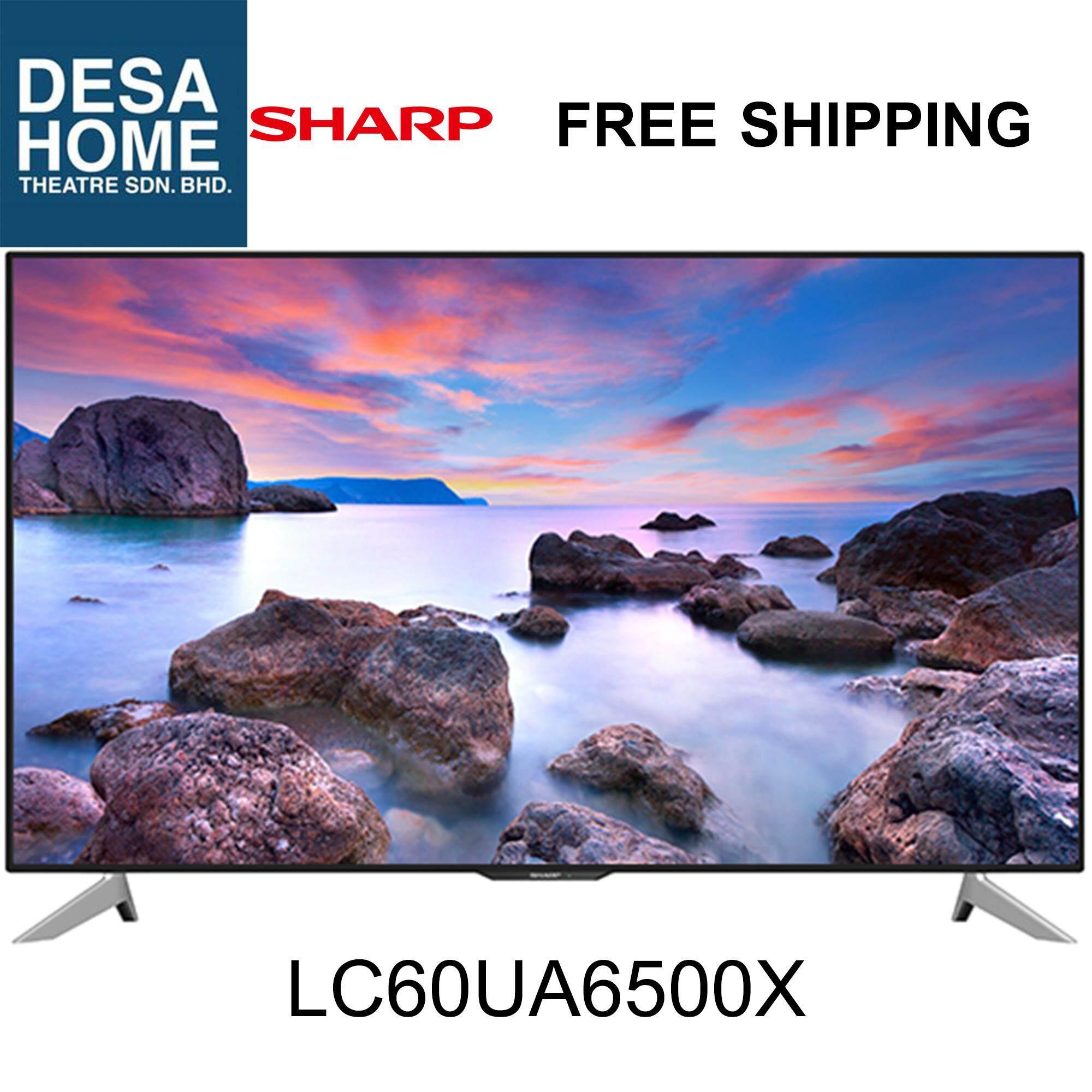 Sharp LC60UA6500X 4k UHD Easy Smart Slim LED TV 60