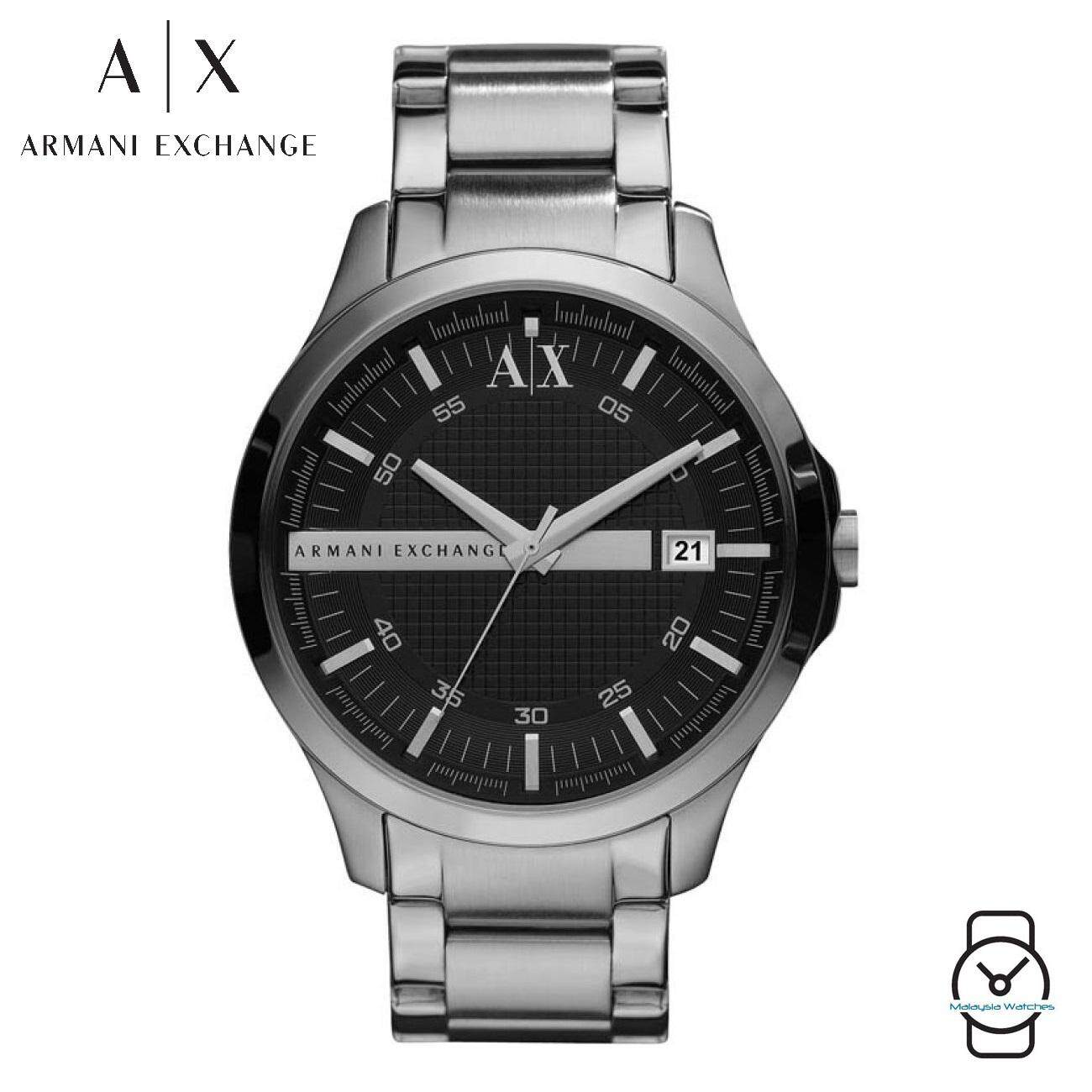 (100% Original) Armani Exchange Men s AX2103 Black Dial Brown Stainless  Steel Watch ( 7203086d2e