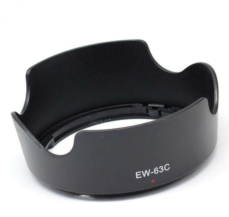 Lens Hoods EW-63C Lens Hood Shade for Canon EF-S 18-55mm f//3.5-5.6 is STM Lens Lens Accessories
