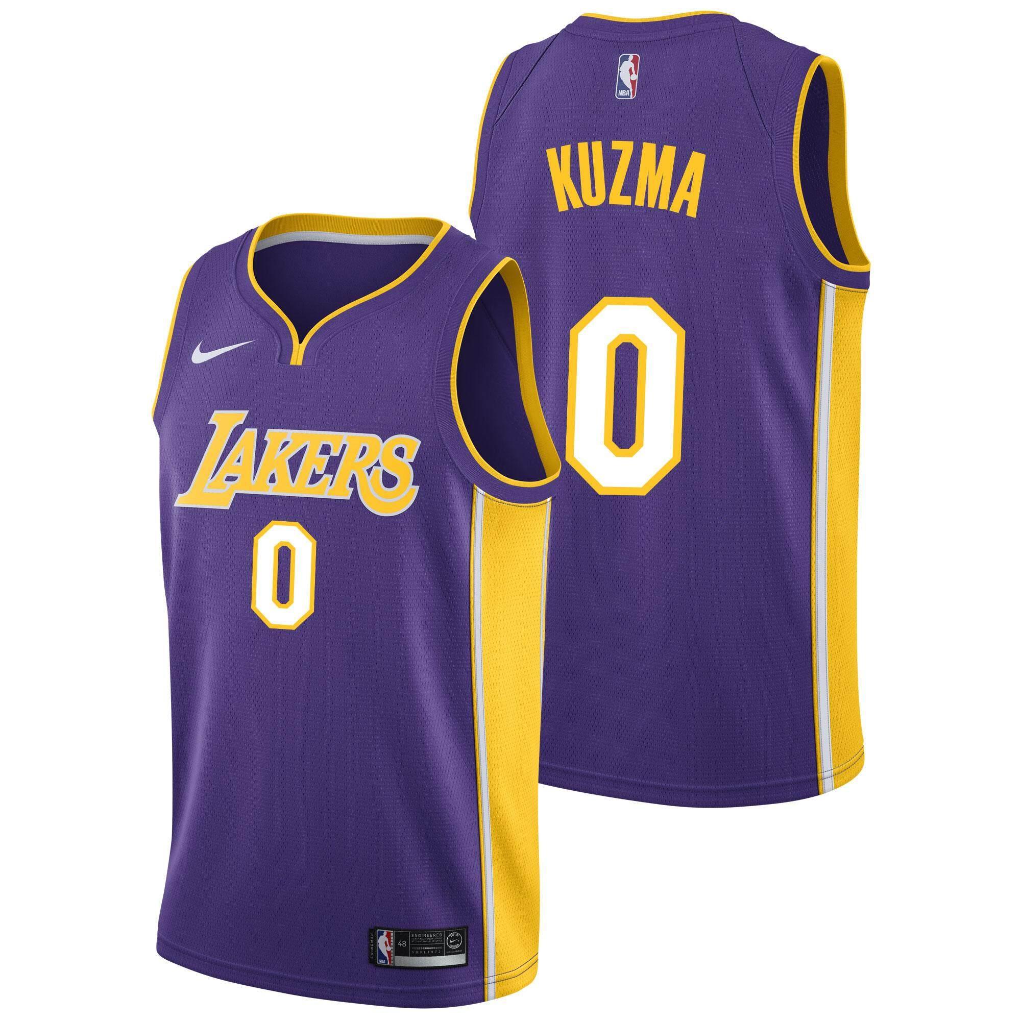 aa54fb4528ea ... czech white nba lakers mens no.0 kyle kuzma swingman jersey basketball  clothes adult chase
