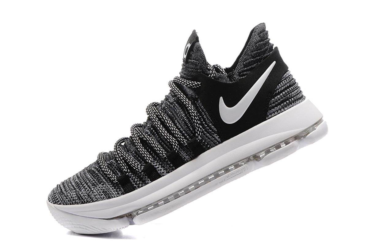 los angeles 3c87f e3b60 ... spain nike mens zoom kd 10 basketball shoe breathable professional  trainers black grey 63a93 2ebbf
