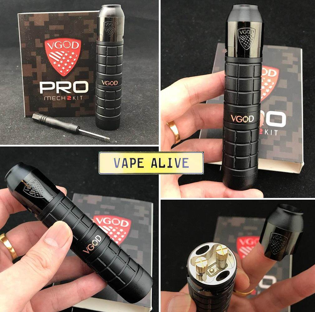 VGOD PRO MECH 2 KIT WITH ELITE RDA 1:1 (C)- PROMECH