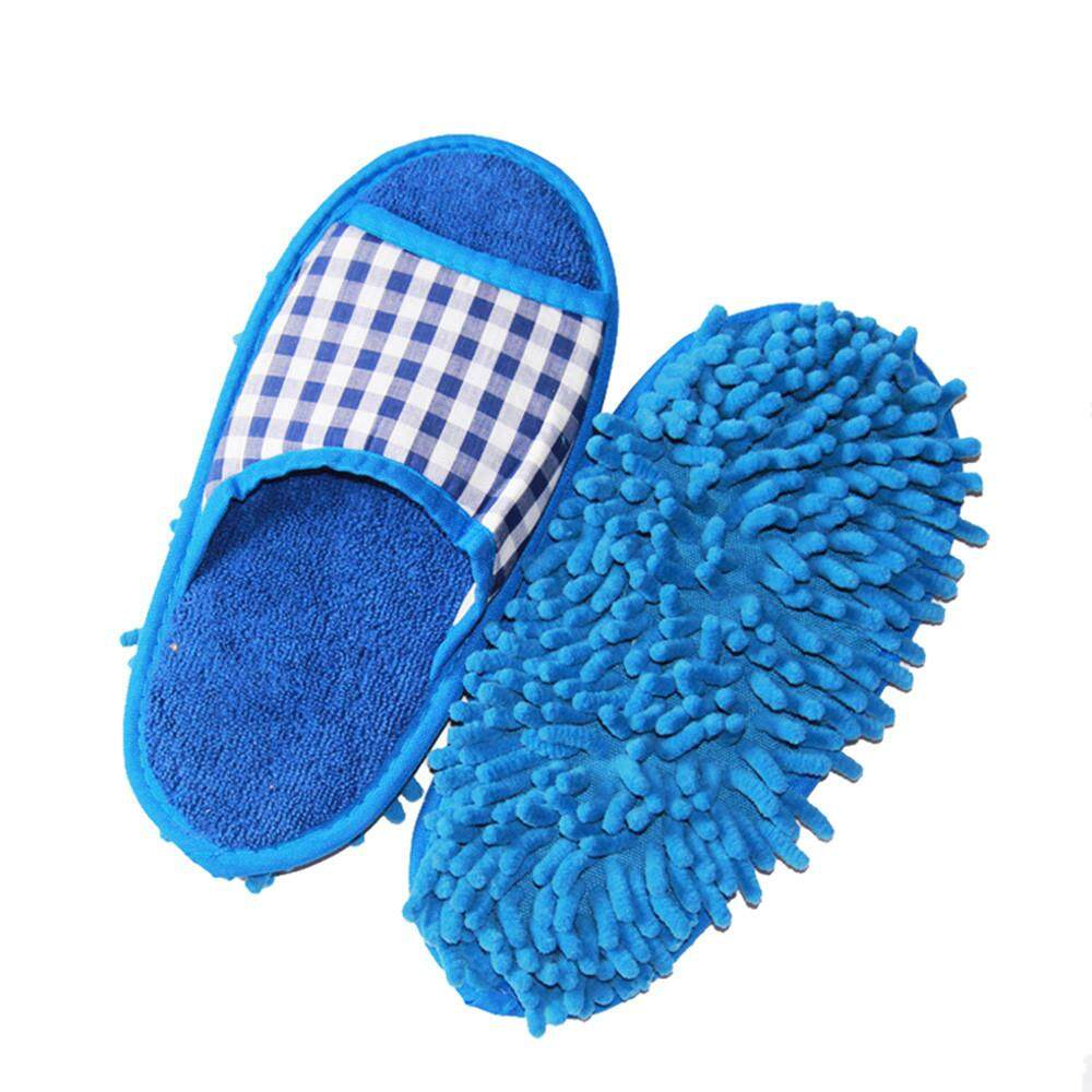 Mop Slippers Lazy Floor Foot Socks Shoes Quick Polishing Cleaning Dust