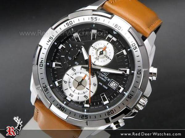 Blue Moon Valley Casio_Edifice Efr 539-Dy Leather Casual Men Watch All Funtion Jam Tangan Lelaki/Man Malaysia