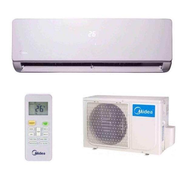 Midea MSK4-09CRN1 Aircond 1HP with Ionizer Air Conditioner R410a ( Optional Extra Smart Kits )