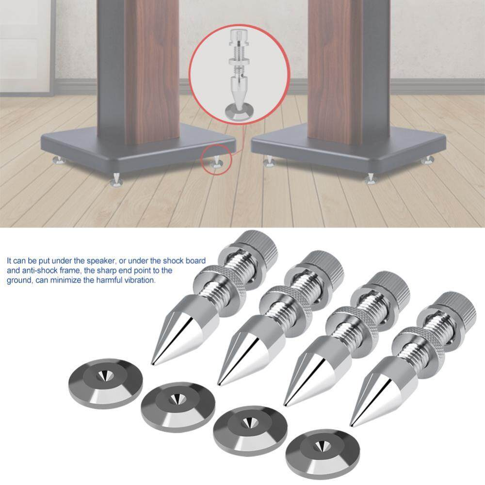 [Clearance Promotion]4 Pcs HiFi Speaker Isolation Spikes Stand Shockproof  Cone Base Pads