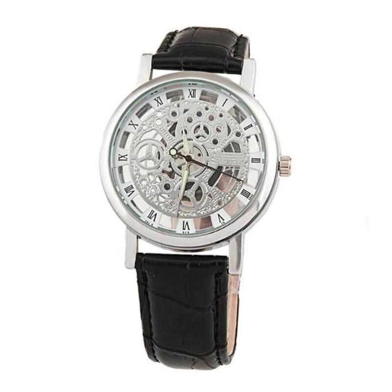 INTI WTH-126 Fashion Men Transparent Design Casual Leather Watch Malaysia
