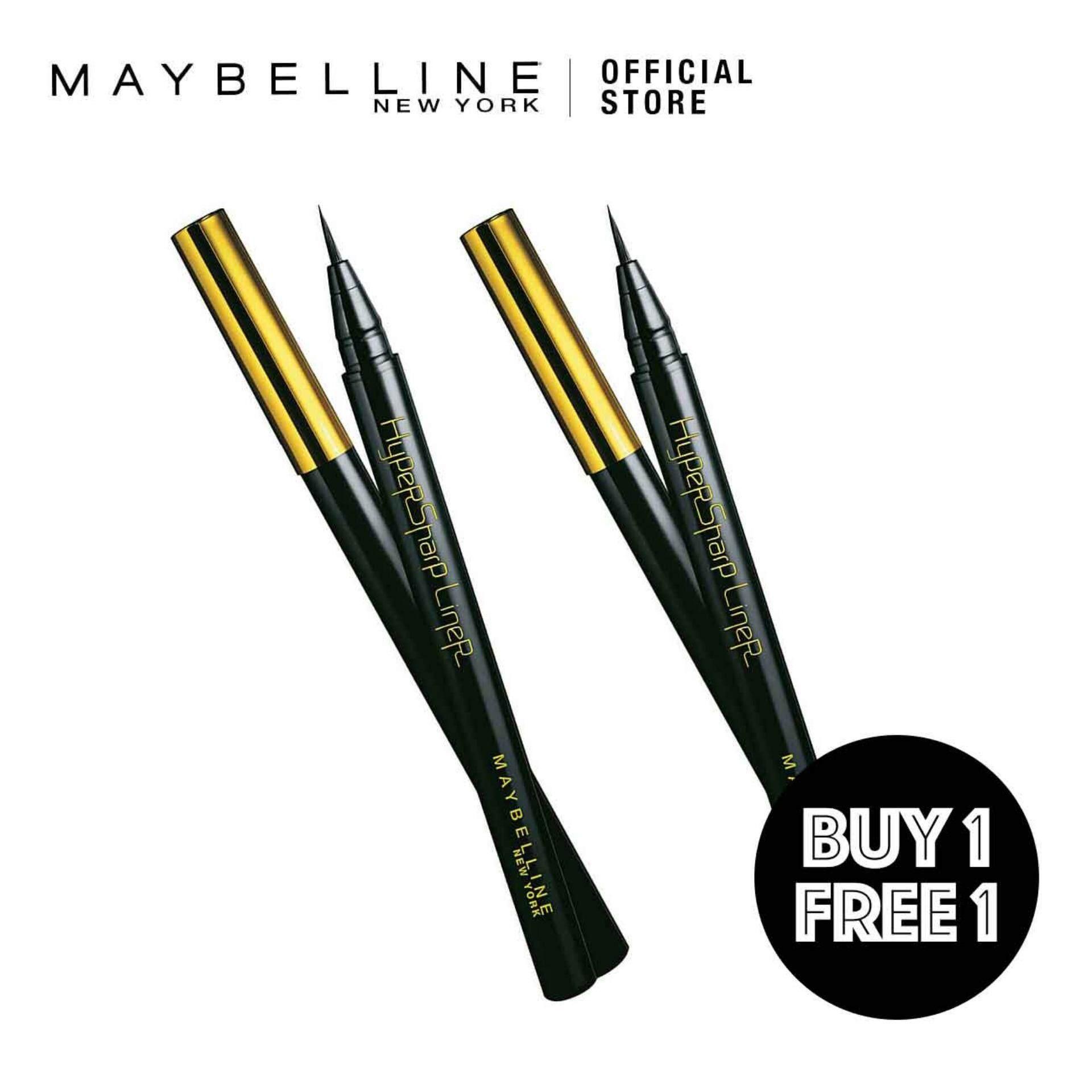 Maybelline Eye Makeup Price In Malaysia Best Hyper Ink Liner Black B1f1 Hypersharp Laser Eyeliner
