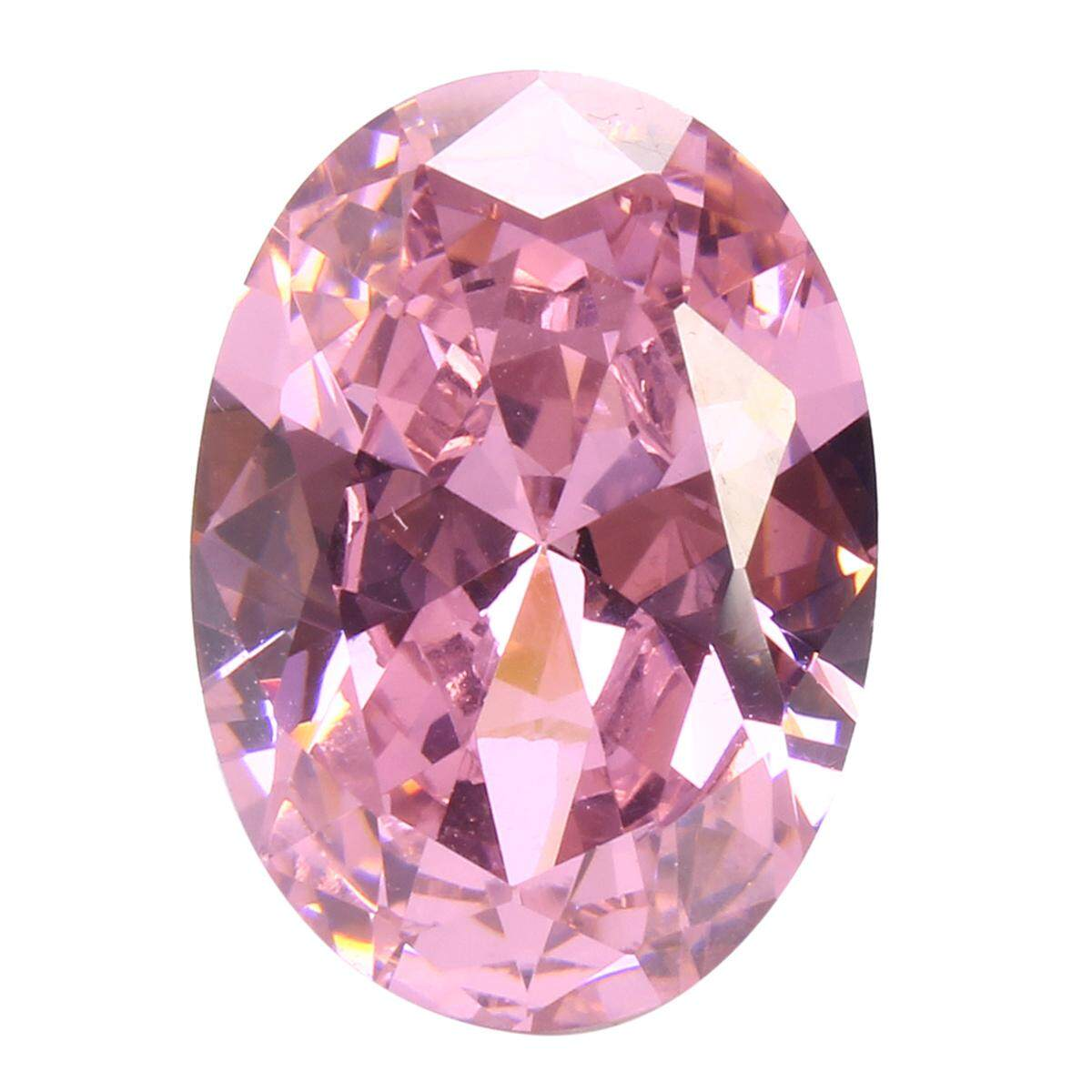 Aaa Pale Pink Sapphire Gems Oval Faceted Cut 4.26ct Vvs Loose Gemstone 5 Sizes [10*14] By Channy.
