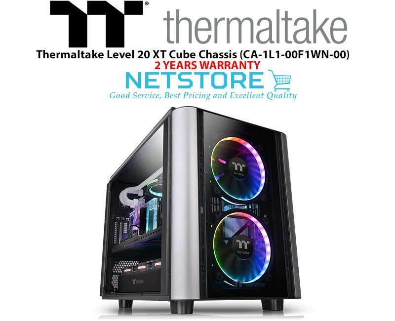 Thermaltake Level 20 XT TG Tempered Glass Cube Chassis CA-1L1-00F1WN-00 Malaysia