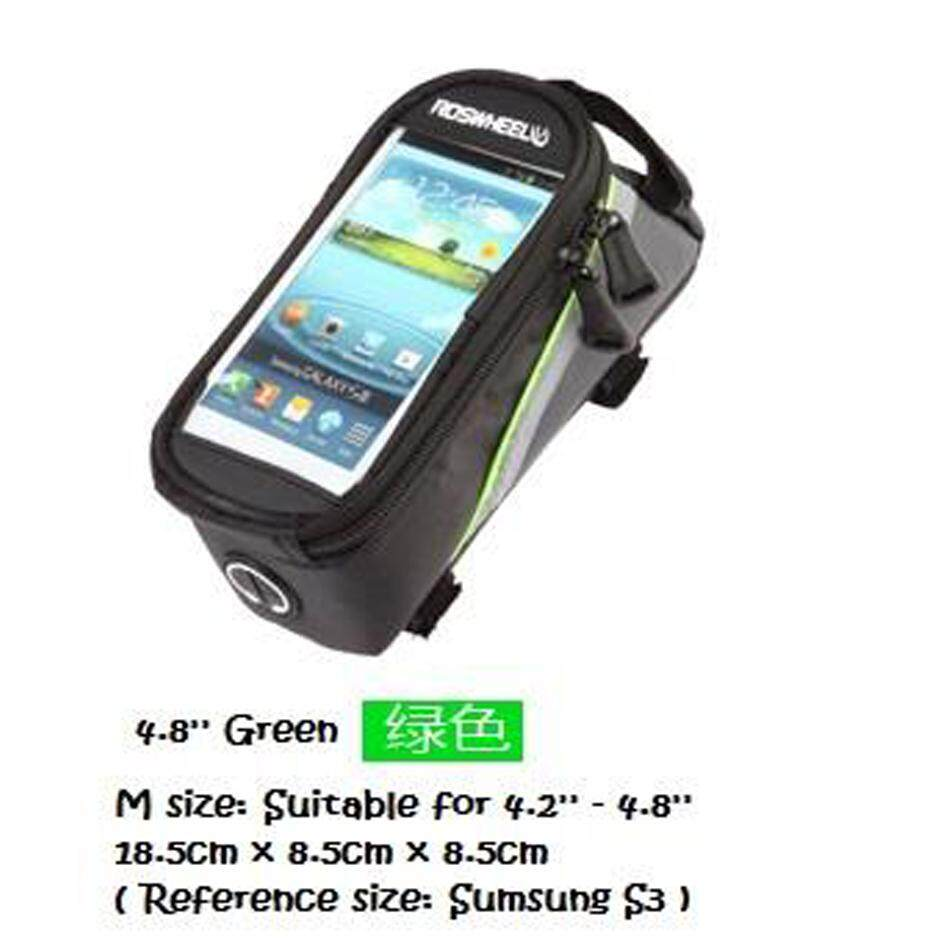Roswheel Bicycle Top Bike Tube Belt Frame Touch Screen Cycling Bag Mtb 4.8 Inch By Kimi Online Store.