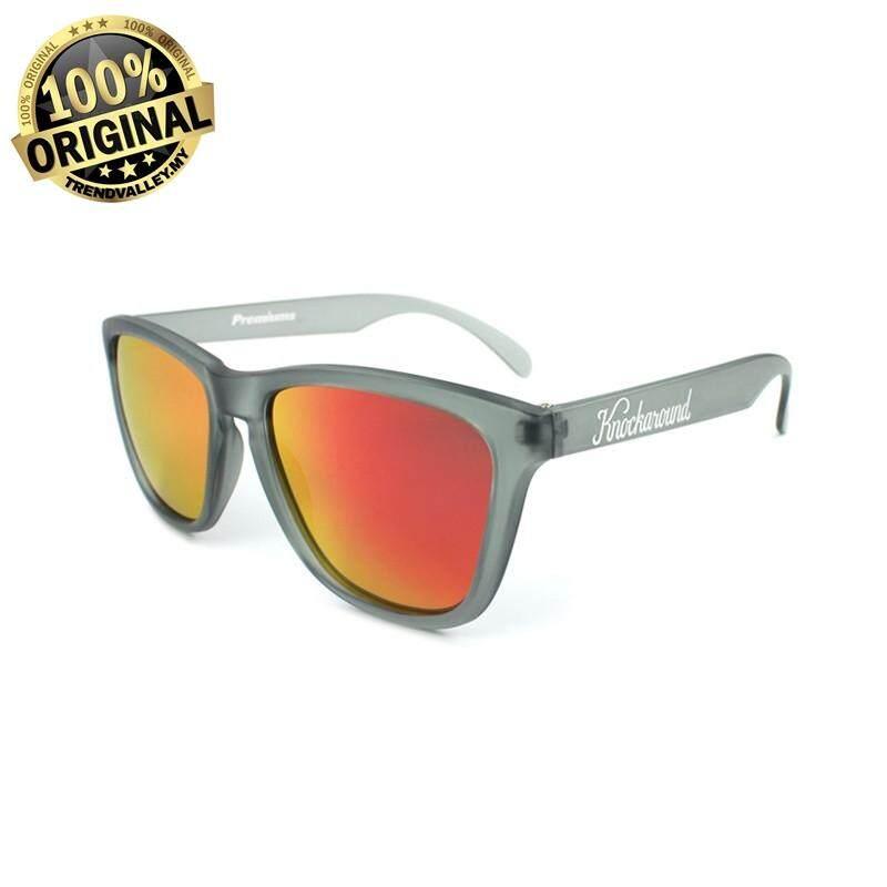 69fa5d62f5f Knockaround Classics Frosted Grey   Red Sunset UV Sunglasses