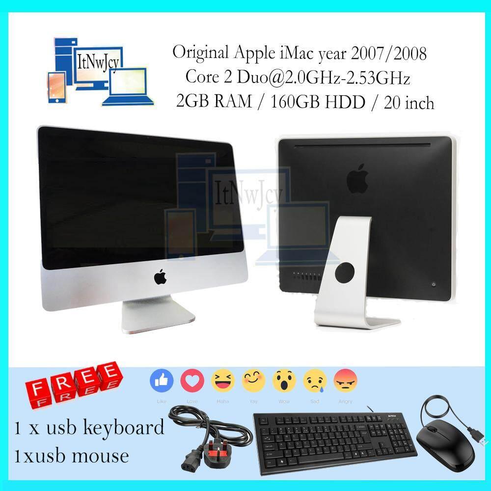 db36274c5960 Apple iMac All in One year 2007 2008  Core 2 Duo 2GB ram