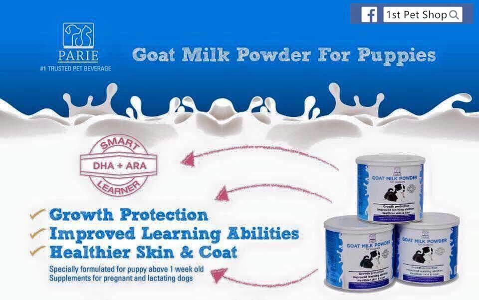 Parie Goat Powder Puppy Dog (6 Months) 500 Gram By Centease.