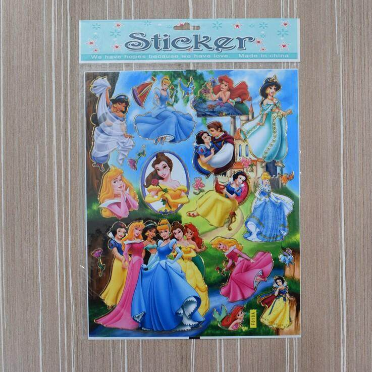 Princesses Stickers For Kids 10pcs/set By Ac Shopper.