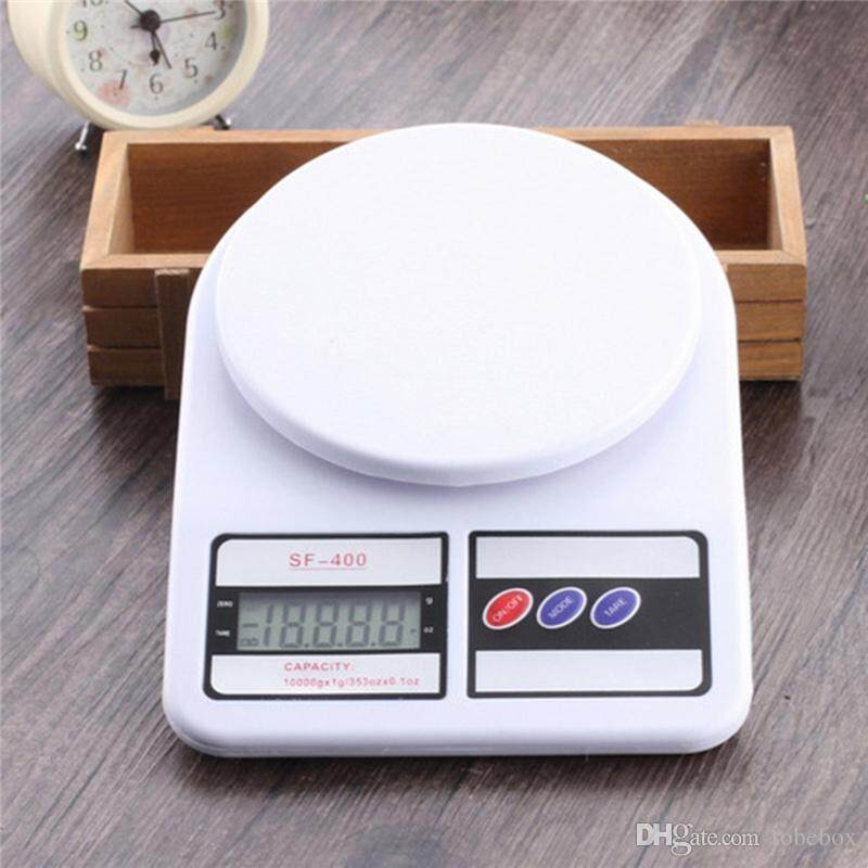 FLEX 10kg Digital Multi Function Kitchen and Food Scale Free Battery