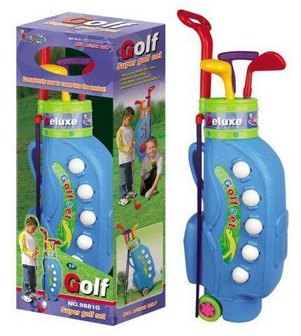 Deluxe Kids Easy Hit Toy Golf Set By Gifts Wonderland.
