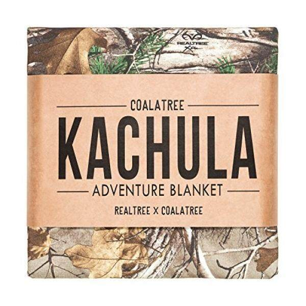 Coalatree Kachula Adventure Blanket V2- Packable, multi-use blanket ideal for traveling, camping and urban use (Camouflage)