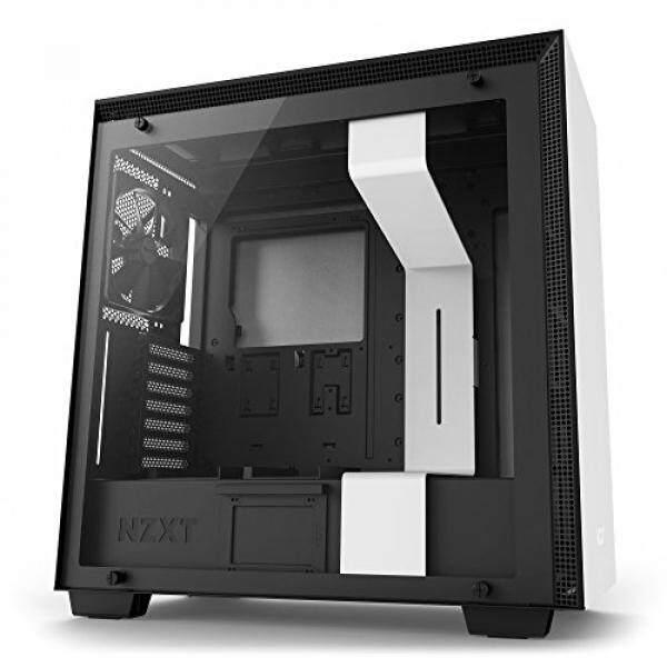 NZXT H700 Desktop Computer Case, CA-H700B-W1, White/Black Malaysia