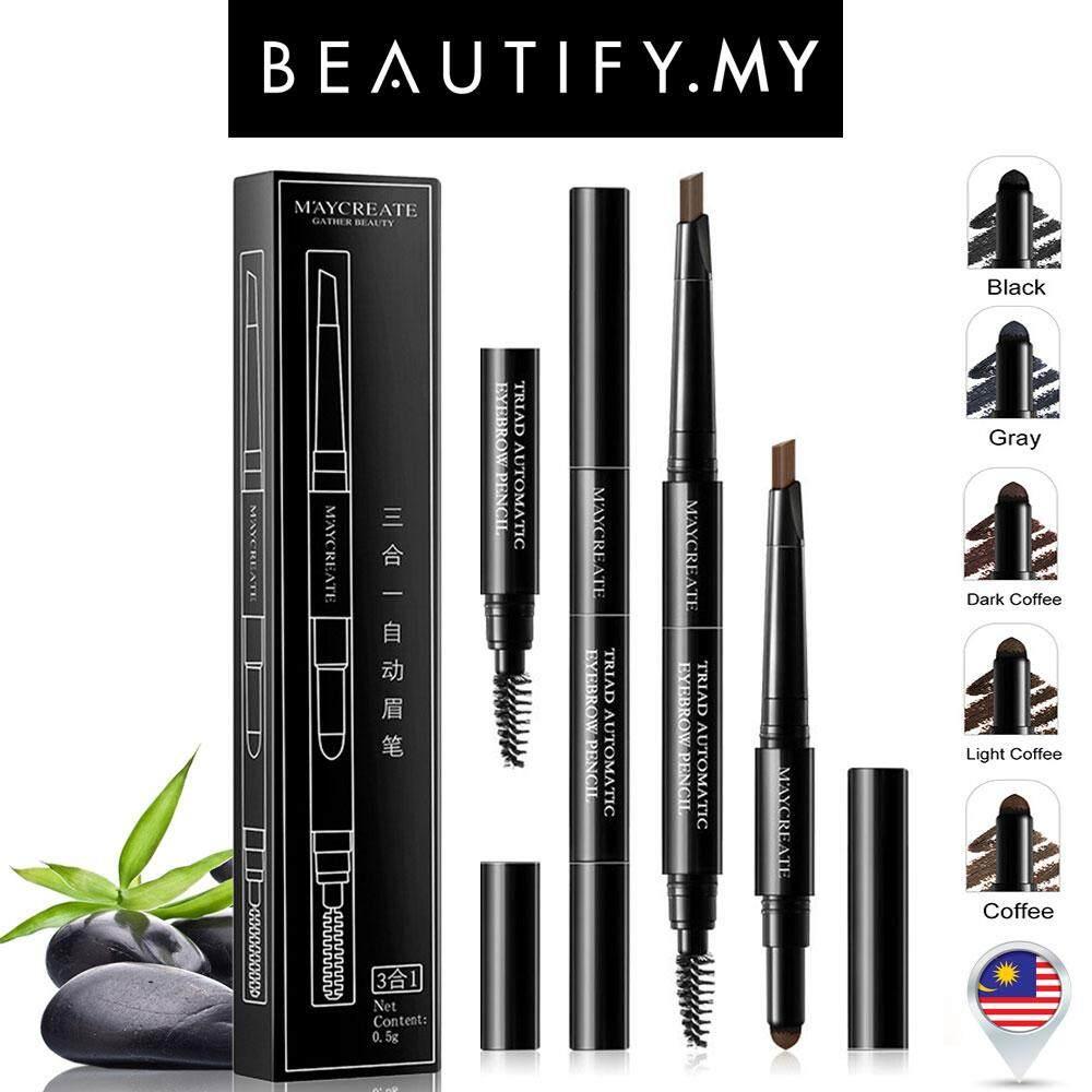 Viva Pensil Alis Eyebrow 100 Original Black Cek Harga Terkini Dan Queen Pencil Maycreate 3in1 Waterproof 4 Colors To Choose